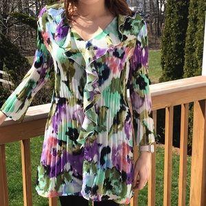 Allison Taylor long sleeved blouse